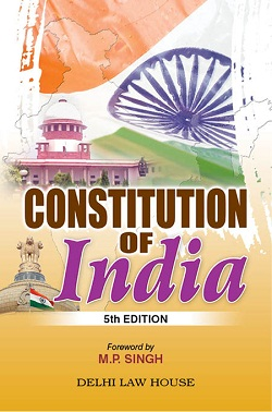 M.P. Singhs : Constitution of India (P/B)  with 101st Amendment, 5th New Edn.