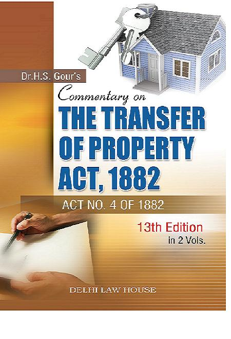 Transfer Of Property Act India Pdf